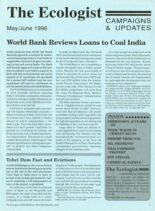 Resurgence & Ecologist – Campaigns & Updates May-June 1996