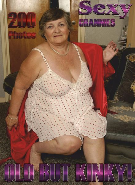 Sexy Grannies Adult Photo Magazine – April 2021