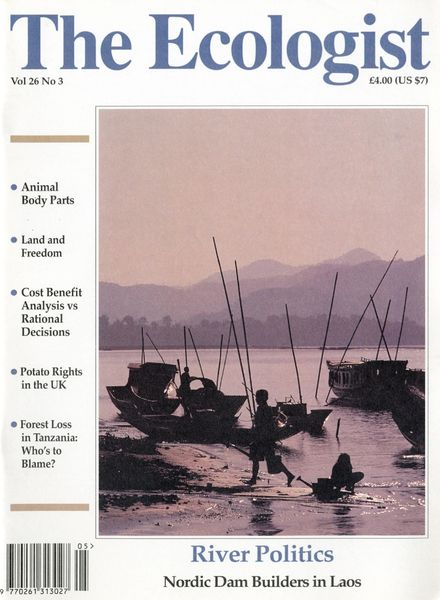 Resurgence & Ecologist – Ecologist, Vol 26 N 3 – May-June 1996