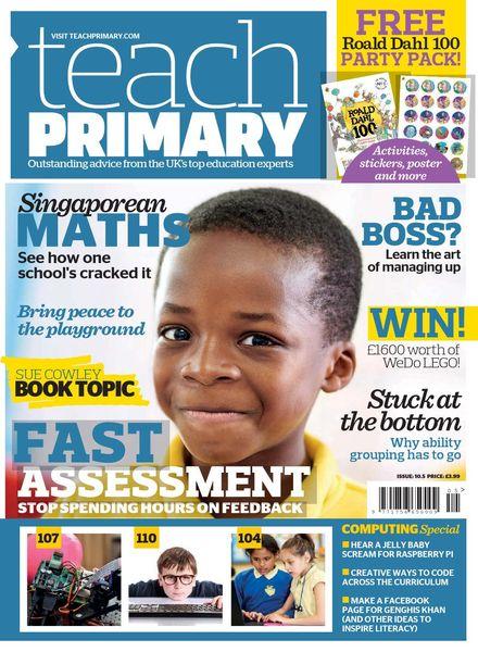 Teach Primary – Volume 10 Issue 5 – July 2016