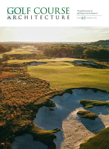 Golf Course Architecture – Issue 63 – January 2021