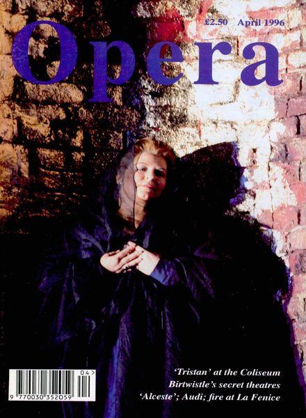Opera – April 1996