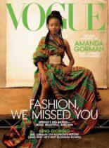 Vogue USA – May 2021