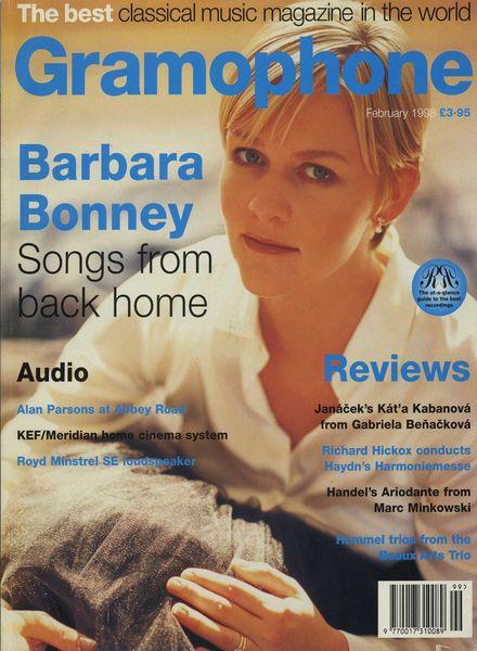 Gramophone – February 1998