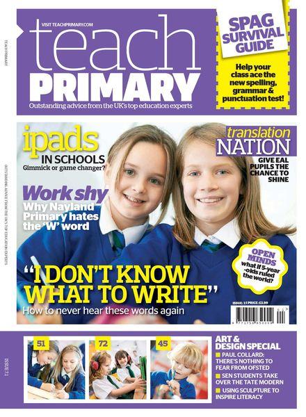 Teach Primary – Volume 7 Issue 1 – January 2013