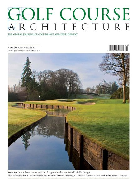 Golf Course Architecture – Issue 20 – April 2010