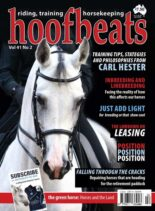 Hoofbeats – August-September 2019