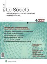 Le Societa – Aprile 2021