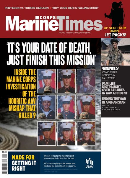 Marine Corps Times – April 2021