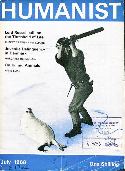 New Humanist – The Humanist, July 1968