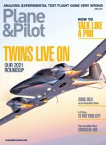 Plane & Pilot – June 2021