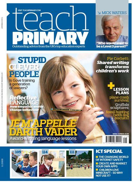 Teach Primary – Volume 7 Issue 5 – July 2013