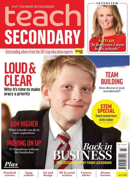 Teach Secondary – April 2021