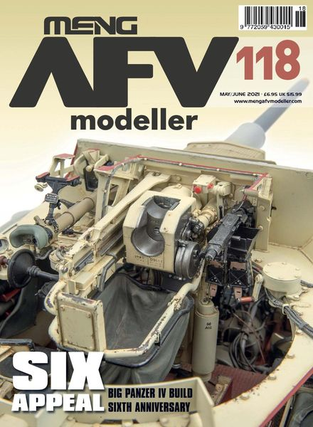 Meng AFV Modeller – Issue 118 – May-June 2021