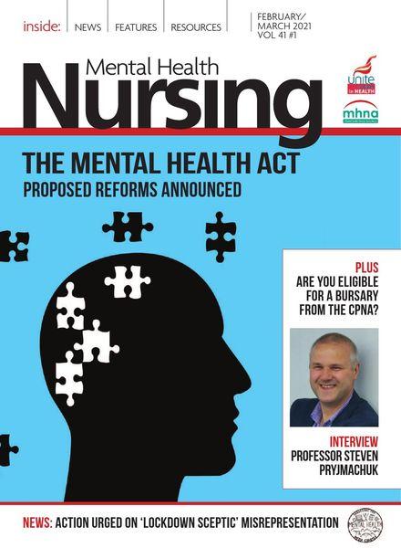 Mental Health Nursing – February-March 2021