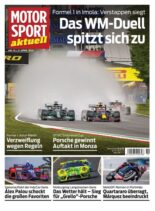 MOTORSPORT aktuell – 20 April 2021