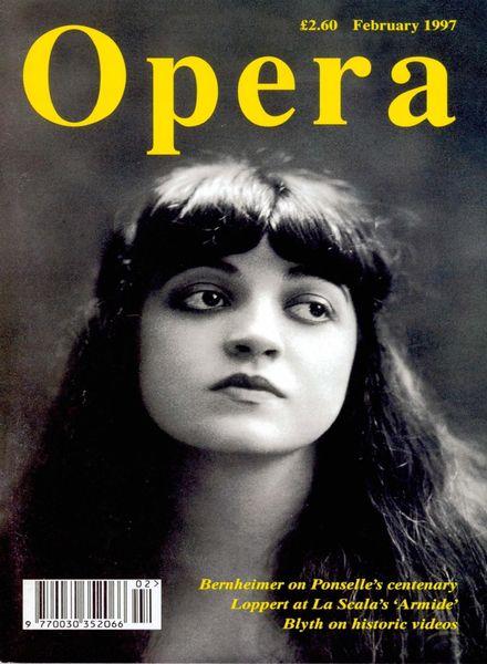Opera – February 1997