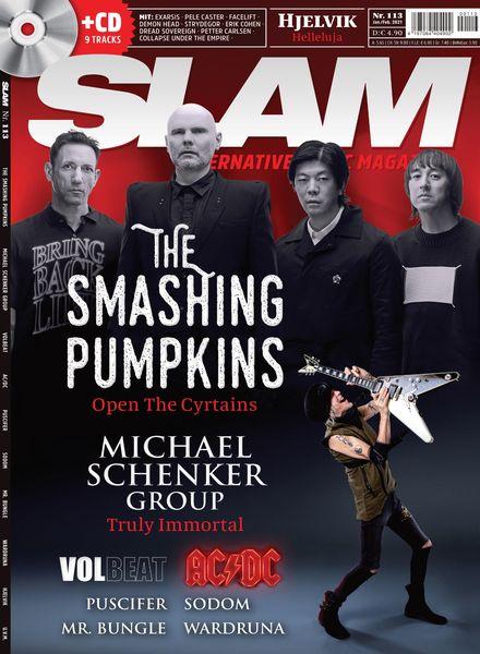 SLAM Alternative Music Magazine – Januar 2021