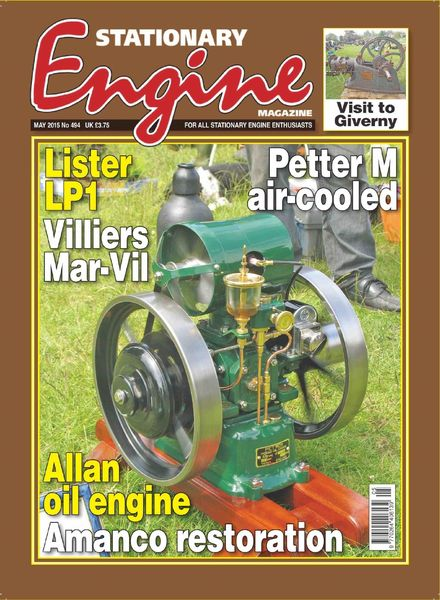 Stationary Engine – Issue 494 – May 2015