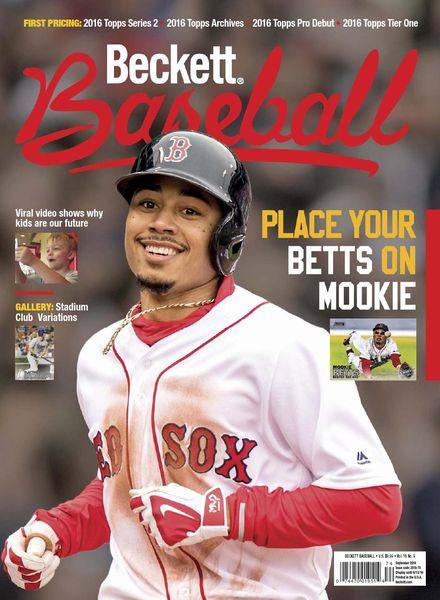 Beckett Baseball – September 2016