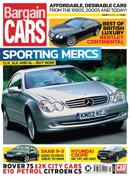 Car Mechanics Bargain Cars – April 2021