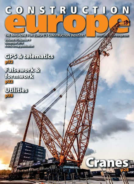Construction Europe – November 2019