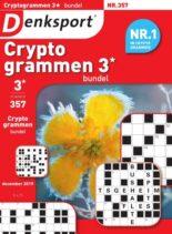 Denksport Cryptogrammen 3 bundel – 20 december 2019
