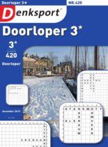 Denksport Doorloper 3 – 20 december 2019