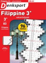 Denksport Filippine 3 Vakantieboek – december 2019