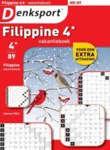 Denksport Filippine 4 Vakantieboek – februari 2021