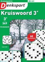 Denksport Kruiswoord 3 – 25 februari 2021