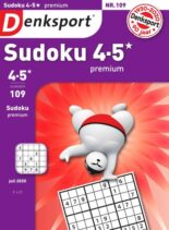 Denksport Sudoku 4-5 premium – 09 juli 2020