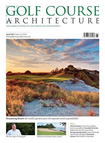 Golf Course Architecture – Issue 32 – April 2013