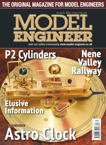 Model Engineer – Issue 4663 – 23 April 2021