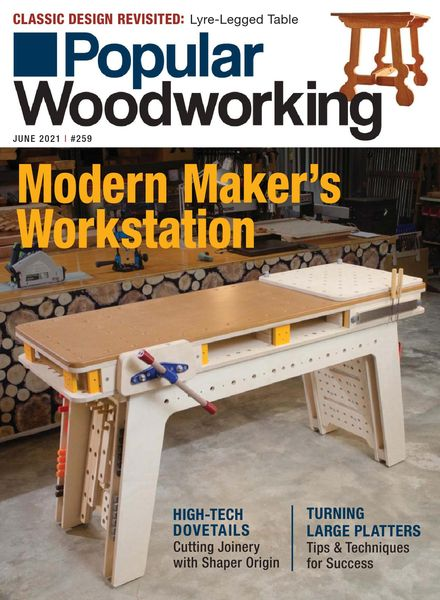 Popular Woodworking – May 2021