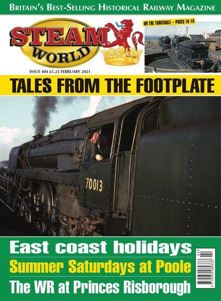 Steam World – Issue 404 – February 2021