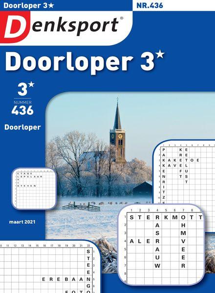 Denksport Doorloper 3 – 25 februari 2021