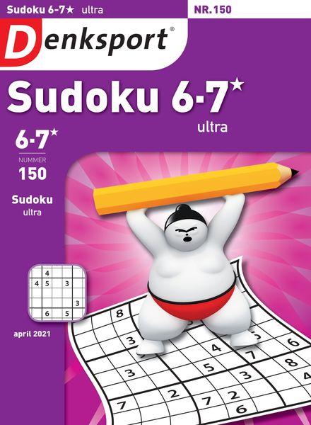 Denksport Sudoku 6-7 ultra – 25 maart 2021