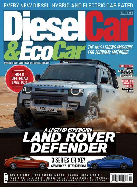 Diesel Car & Eco Car – Issue 394 – November 2019