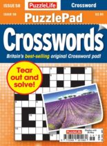PuzzleLife PuzzlePad Crosswords – 22 April 2021