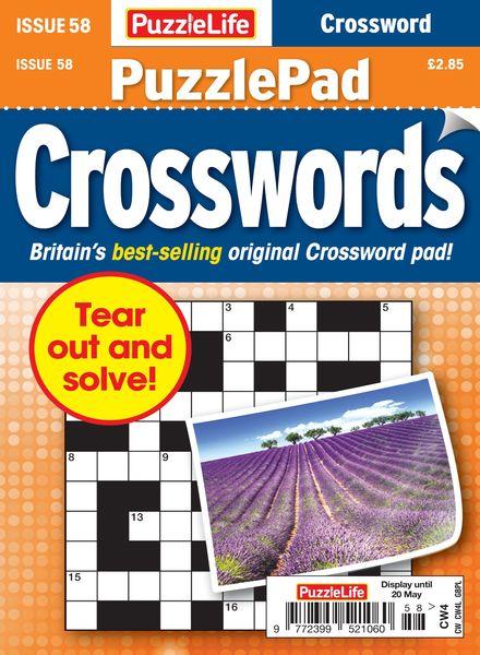 PuzzleLife PuzzlePad Crosswords – 22 April 2021