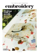Embroidery Magazine – July-August 2020