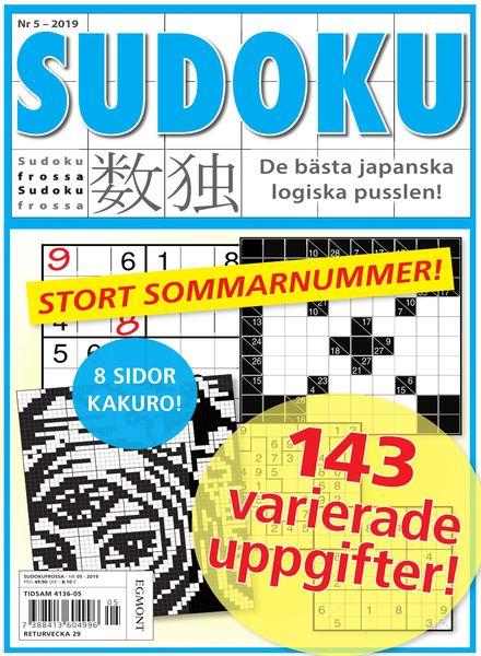 Sudoku Frossa – 14 juni 2019