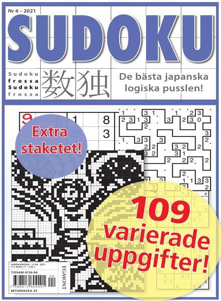 Sudoku Frossa – 22 april 2021