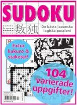 Sudoku Frossa – 15 augusti 2019