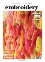 Embroidery Magazine – January-February 2020