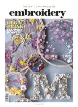 Embroidery Magazine – March-April 2020