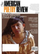 The American Poetry Review – May-June 2021