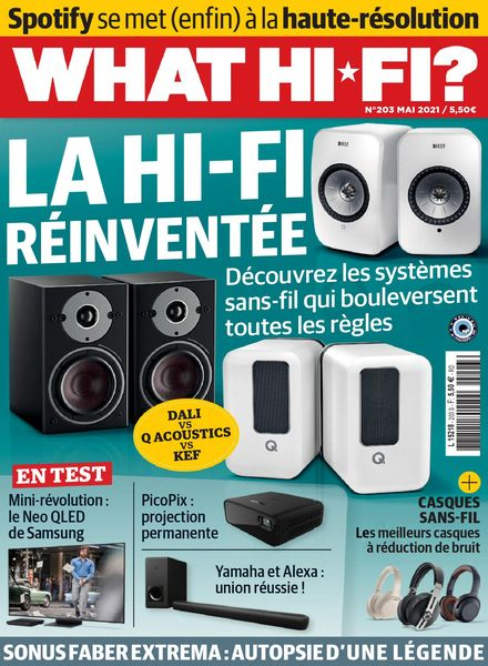 What Hifi France – mai 2021