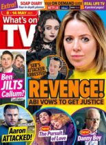 What's on TV – 08 May 2021